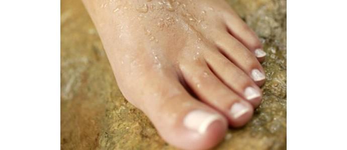 La transpiration des pieds